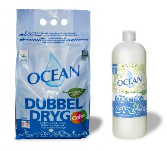 tvättmedel och mjukmedel sommaräng
